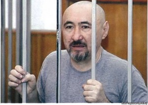 Aron Atabek (poet) sentenced to 18 years in prison after clashes in the village of Shanyrak. Almaty, October 2007.