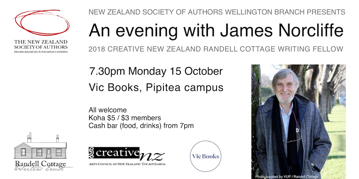 An evening with James Norcliffe